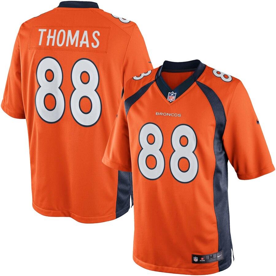 DeMaryius Thomas Denver Broncos Nike Youth Limited Jersey – Orange ...