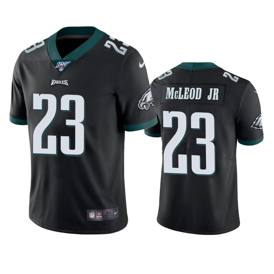 Philadelphia Eagles Rodney McLeod Black 100th Season Vapor Limited ...