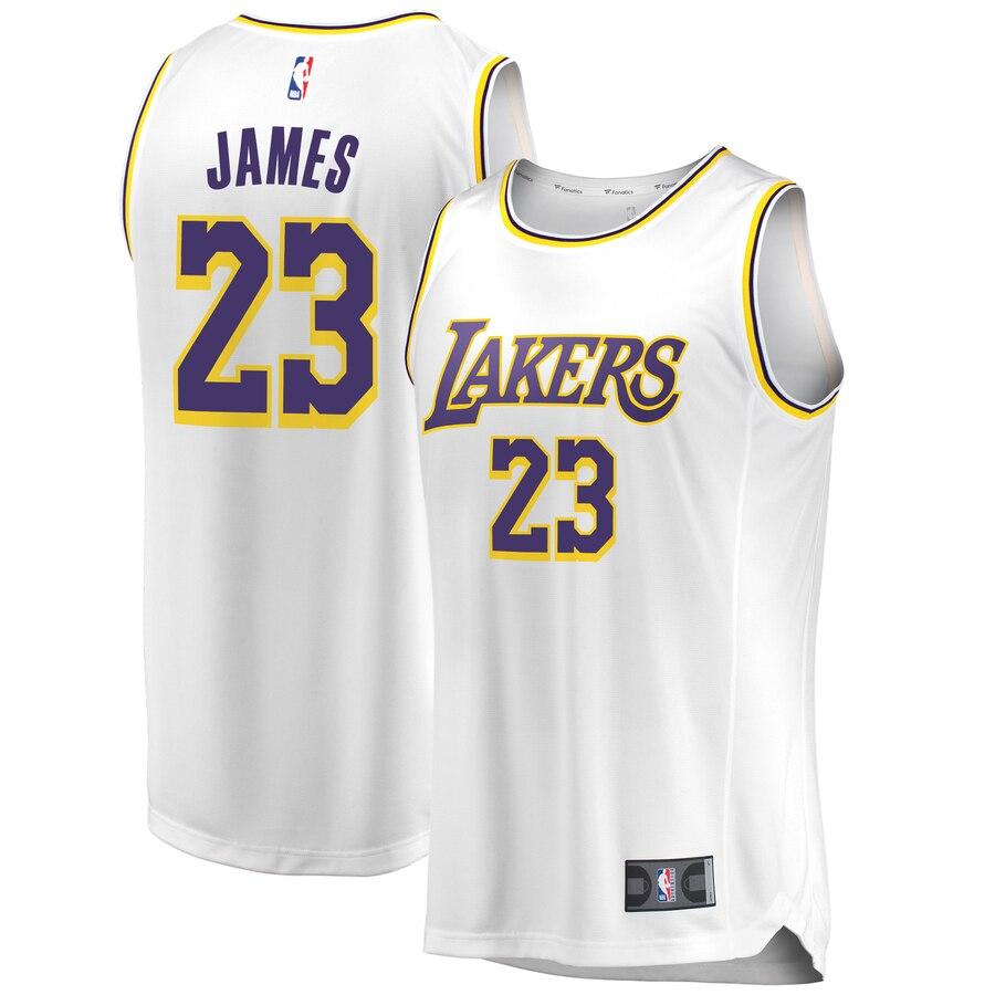LeBron James Los Angeles Lakers Fanatics Branded 2018/19 Fast ...