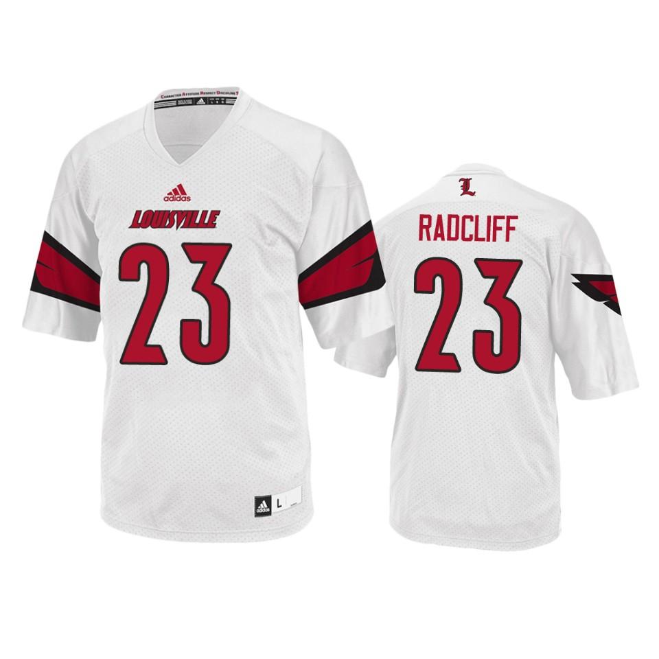 Brandon Radcliff Louisville Cardinals College Football White Men's ...