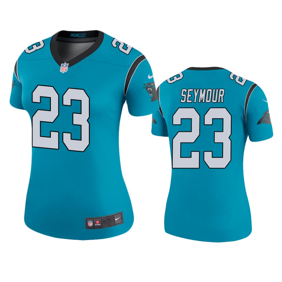 Kevon Seymour Panthers Blue Color Rush Legend Jersey – Cfjersey.store