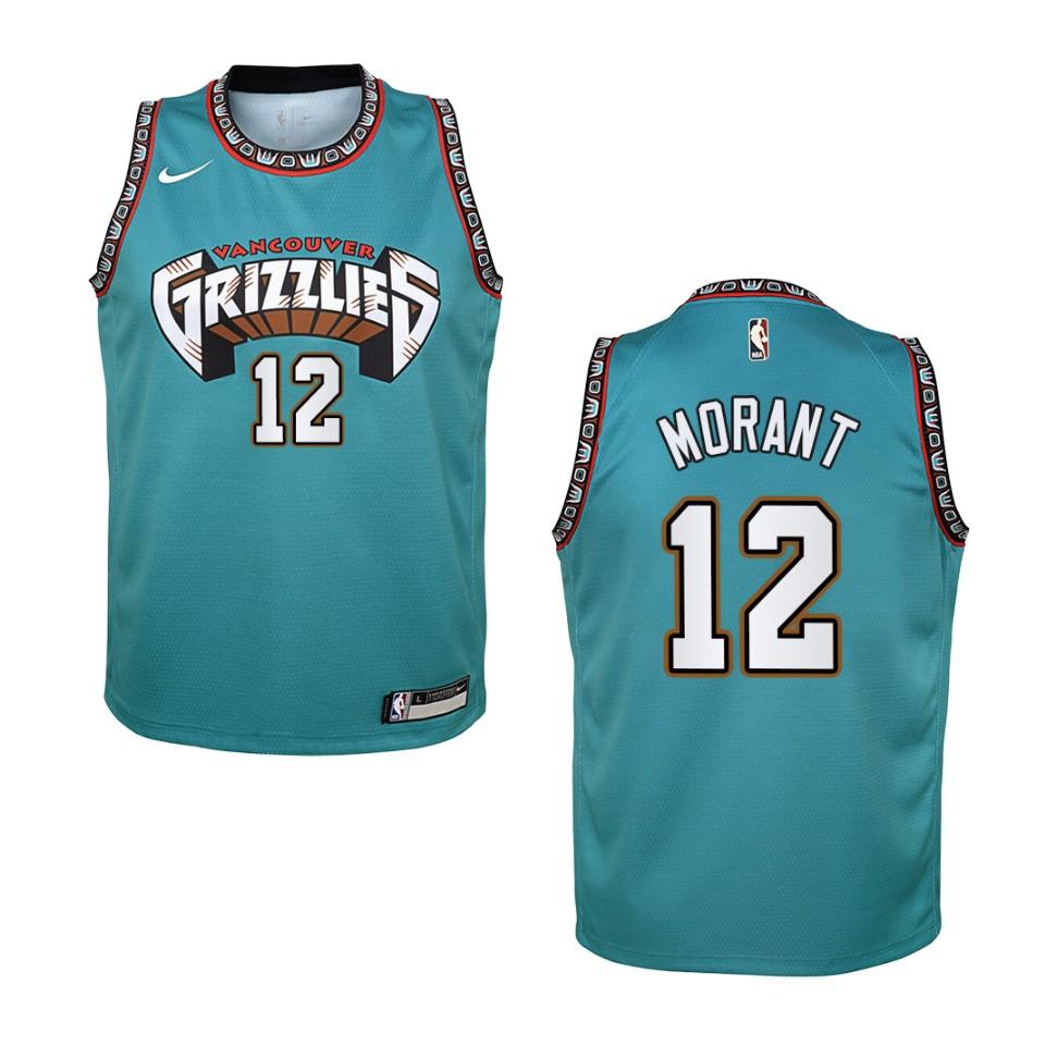 Memphis Grizzlies #12 Ja Morant Basketball Swingman Jersey New