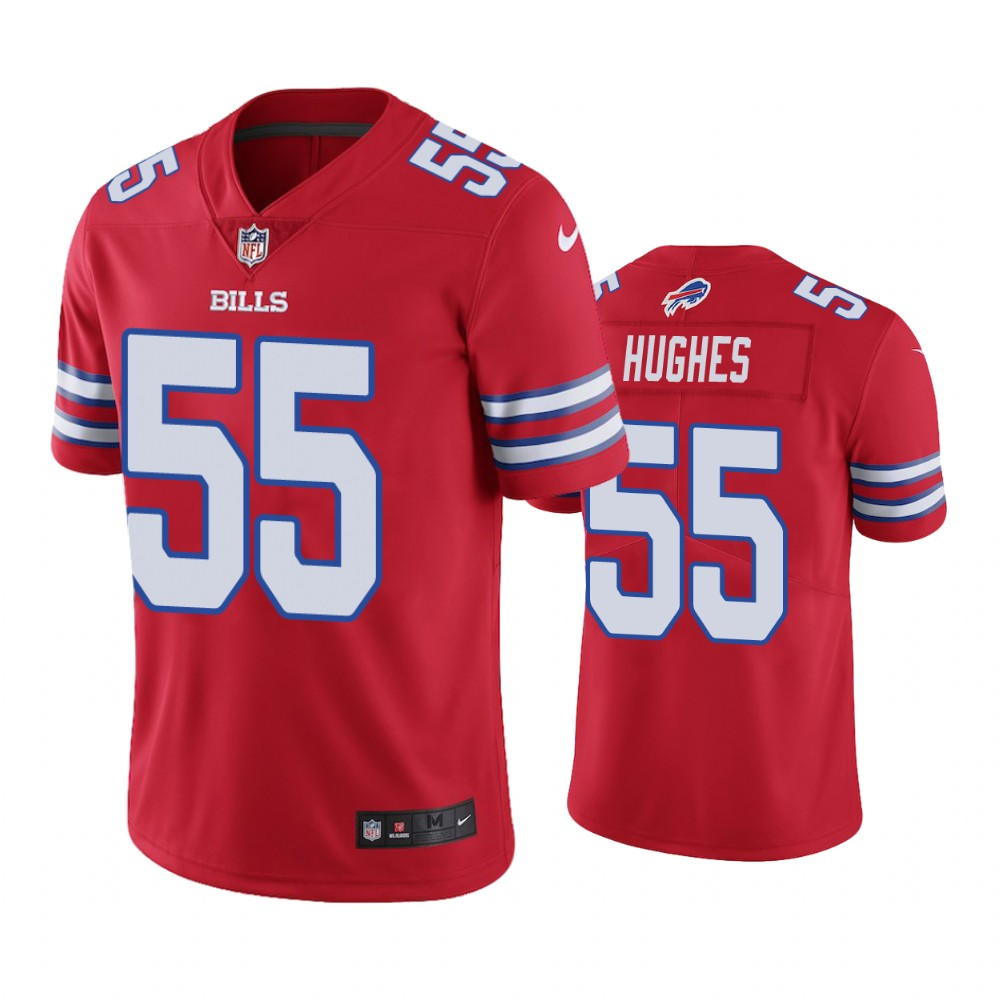Buffalo Bills Jerry Hughes Red Nike Color Rush Limited jersey ...