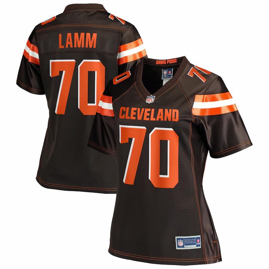 Kendall Lamm Cleveland Browns NFL Pro Line Women's Team Player ...