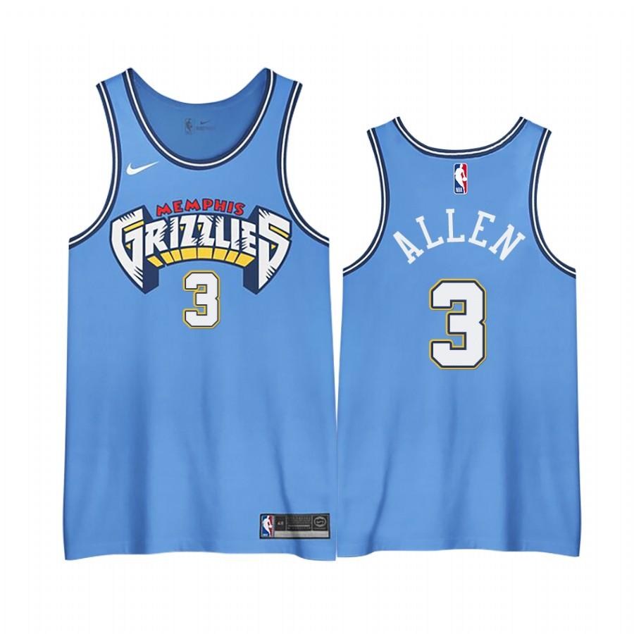 Grayson Allen Grizzlies 2020-21 City Edition 3.0 Jerseys Shirts ...