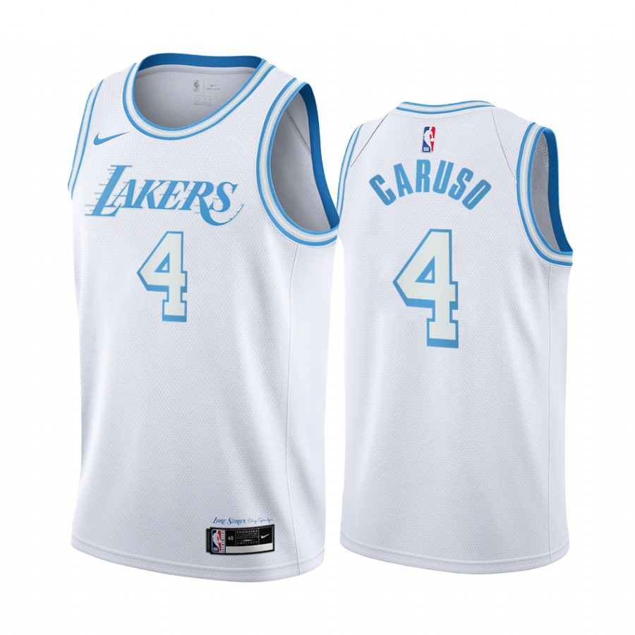 Alex Caruso Los Angeles Lakers 2020-21 White City Edition Jersey ...